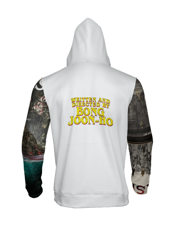 """Parasite"" Poster Graphic Hoodie (White)"
