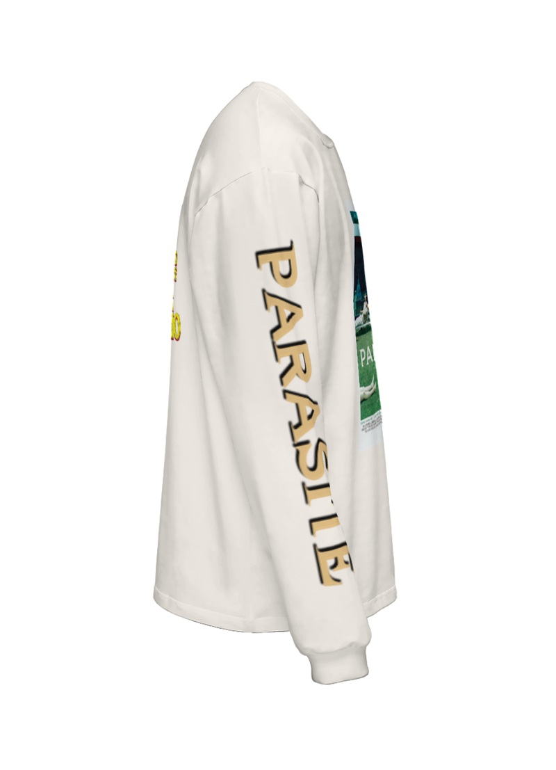 """Parasite"" Poster Long Sleeve (Beige)"