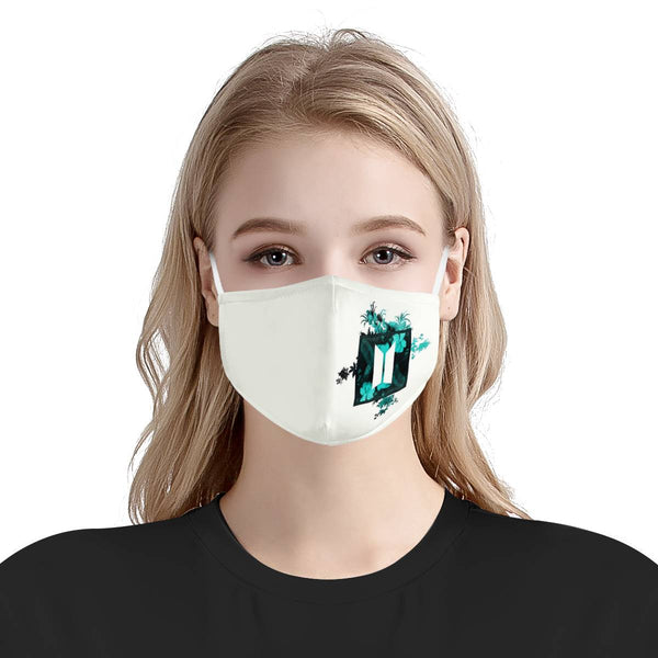 BTS Army Kpop Mask Fanmade / CDC Rec Fashion Face Mask w/ Anti Dust Protection Filters / Fabric, Handmade, 3 Layer
