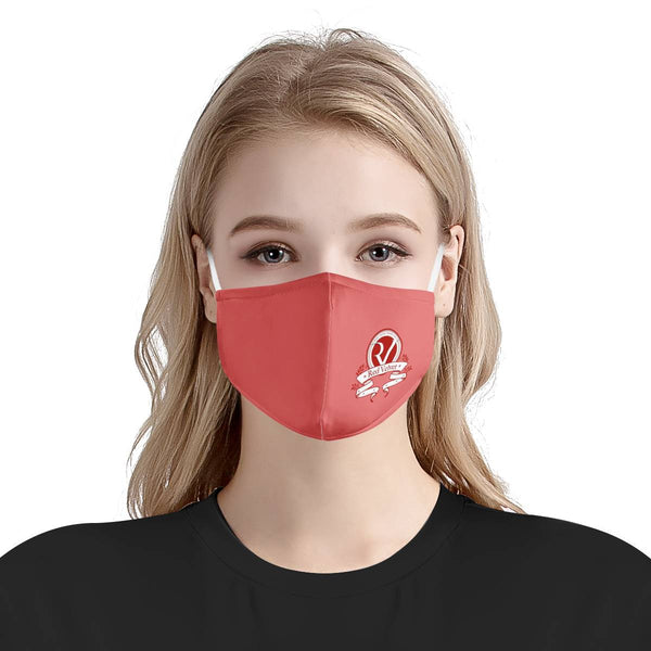 Red Velvet Logo Mask