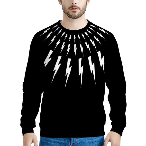 Lightning Bolt Sweater (THICK SWEATER) David Rose | Schitt's Creek Sweater