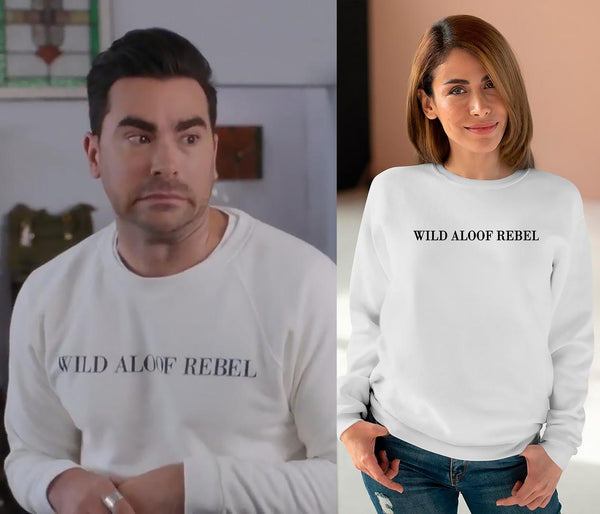 Wild Aloof Rebel (THICK SWEATER) Sweatshirt | Schitt's Creek Sweater