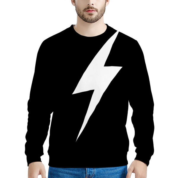 Thunder Lightning Bolt (LONG SLEEVE TEE) Sweatshirt | Schitt's Creek Sweater
