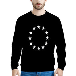 EU Stars (THICK SWEATER) David Rose Sweatshirt | Schitt's Creek Gift