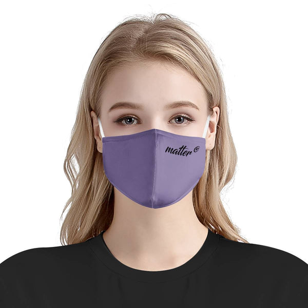 Solid Purple Matter Mask | Fashion Face Mask