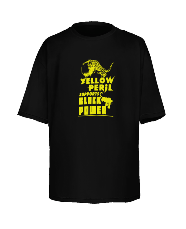 Yellow Peril Supports Black Power - Tee