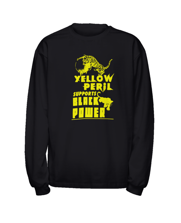 Yellow Peril Supports Black Power - Long Sleeve