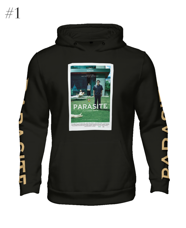 """Parasite"" Poster Hype Hoodie (Black)"