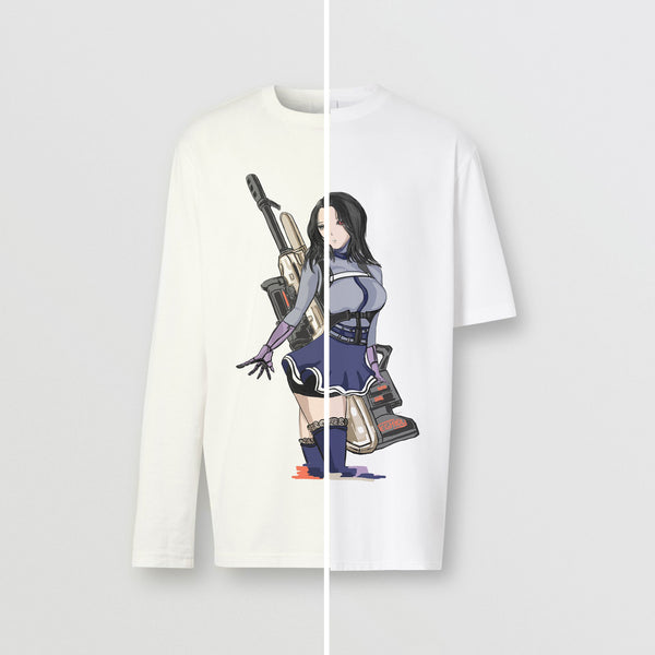 Emily Ghoul Assassin Long-sleeve Cotton TOP & T-shirt Bundle