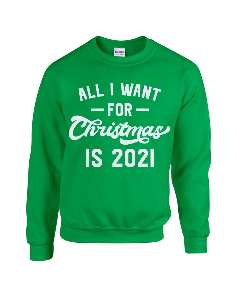 all i want (Thick Sweater) Cute Ugly Christmas Sweater