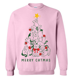 Merry Catmas (LONG SLEEVE TEE)