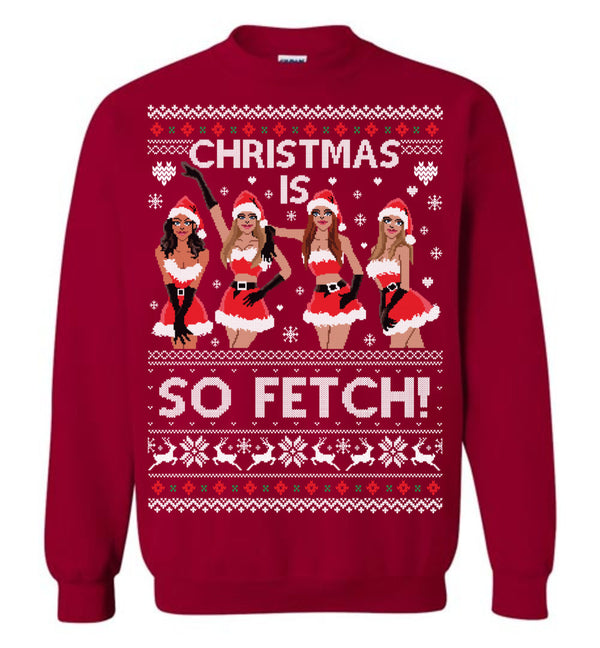 Christmas is so Fetch! (THICK SWEATER)
