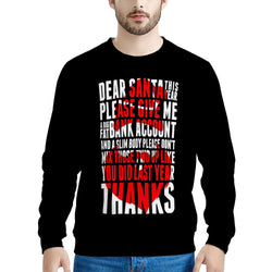 dear santa (Thick Sweater) Cute Ugly Christmas Sweater