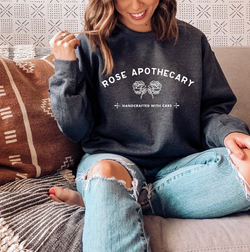 Rose Apothecary (THICK SWEATER) Schitt's Creek | Schitt's Creek Sweater | Schitt's Creek Gift | David Rose Sweatshirt