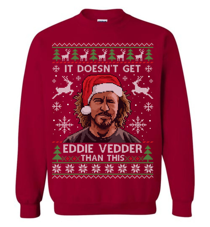 Eddie Vedder (Thick Sweater) Cute Ugly Christmas Sweater