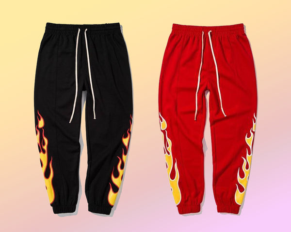FIRE FLAME (SWEAT PANTS)