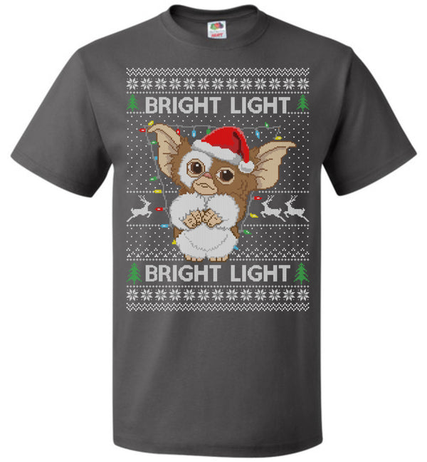 Gremlins Bright Light (REGULAR TEE) Xmas Tee