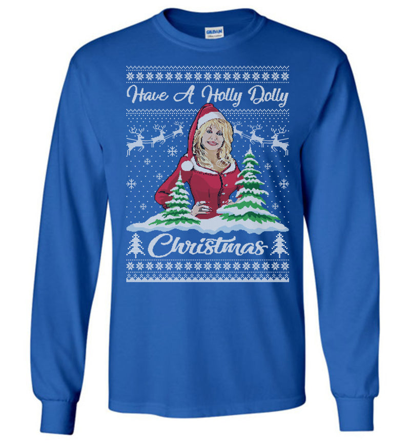 Holly Dolly (THICK SWEATER) Cute Ugly Christmas Sweater
