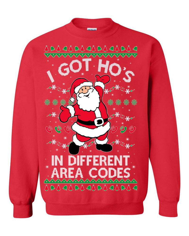 I GOT HO'S (Thick Sweater) Cute Ugly Christmas Sweater