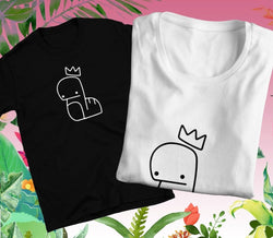 Stray Kids (REGULAR TEE) Bang Chan Doodle Cute Unisex Kpop Tee T-Shirt Merch | Comfy Fashionable High Quality Handmade