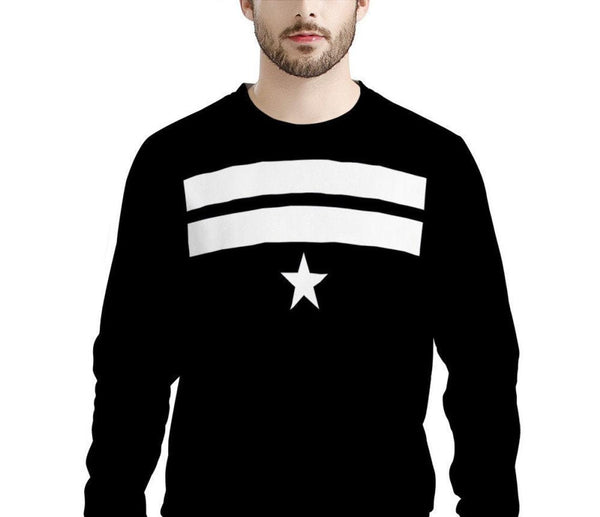 Ew David Stripe Star (LONG SLEEVE TEE) David Rose Schitt's Creek Sweatshirt | Schitt's Creek Sweater | Lightning Bolt Sweatshirt