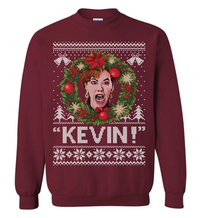 Kevin Home Alone  (Thick Sweater) Cute Ugly Christmas Sweater