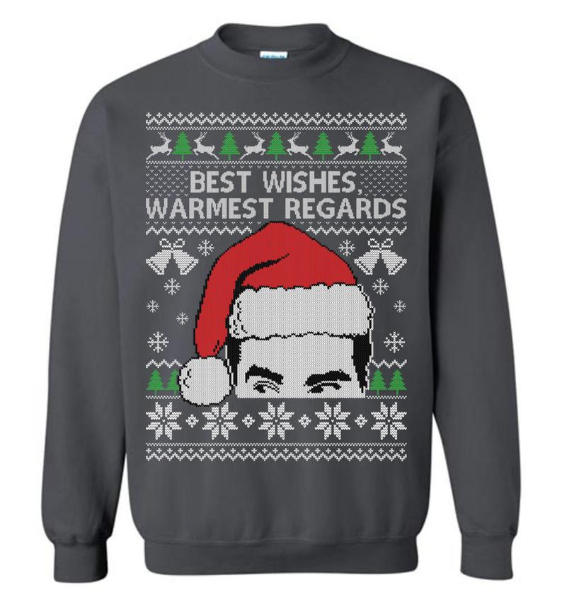 Best Wishes Warmest Regards (THICK SWEATER) Ugly Christmas Sweater