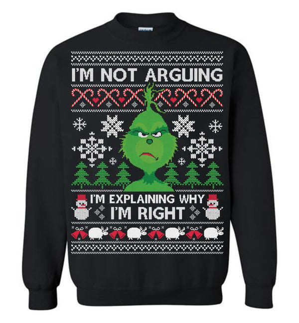 Grinch (THICK SWEATER)