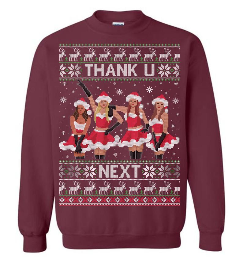 Thank U, Next (Thick Sweater) Cute Ugly Christmas Sweater