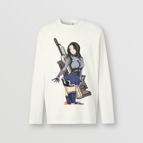 Emily Ghoul  Assassin Long-sleeve Cotton TOP