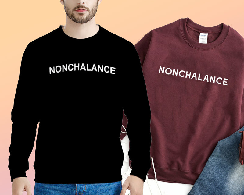 Nonchalance (THICK SWEATER)