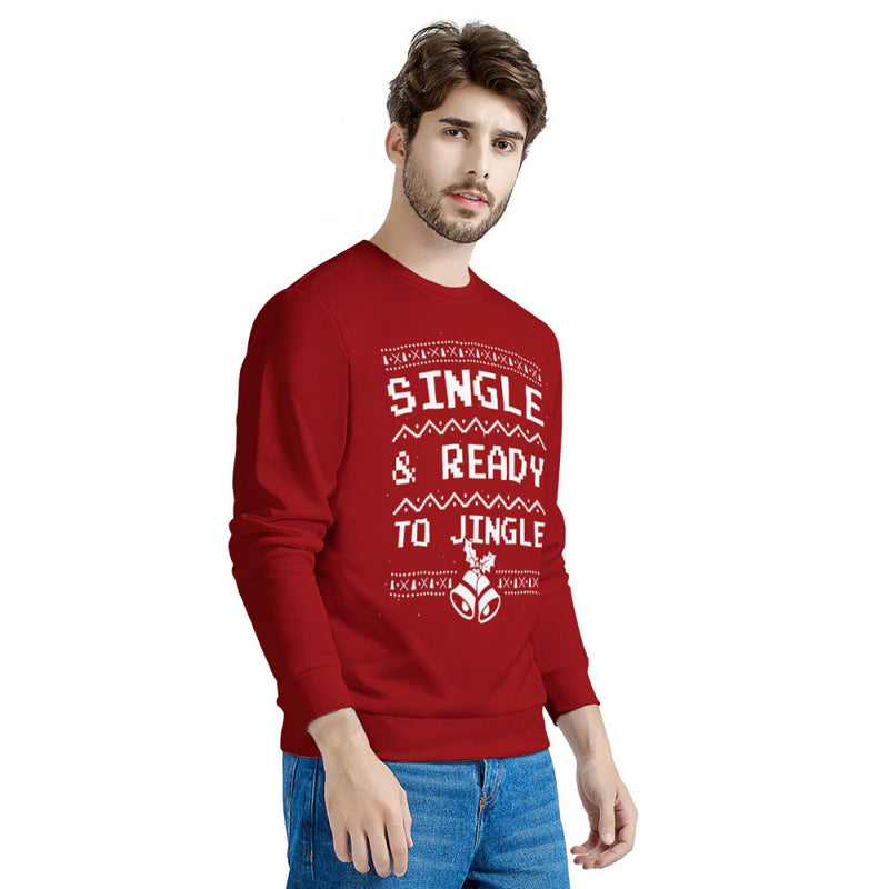 Single Ready To Jungle (Thick Sweater) Cute Ugly Christmas Sweater