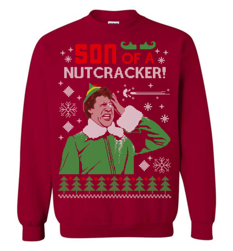 Ugly Christmas Elf Sweater (Thick Sweater) Cute Ugly Christmas Sweater