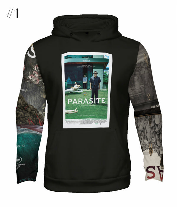 """Parasite"" Poster Graphic Hoodie (Black)"