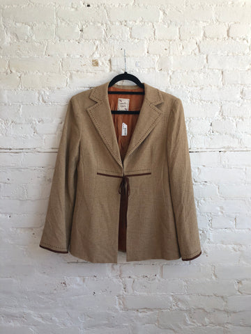 Nanette Lepore Silk and Wool Jacket