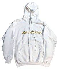 MAYKERS 2016 Logo Hoodie White/Gold