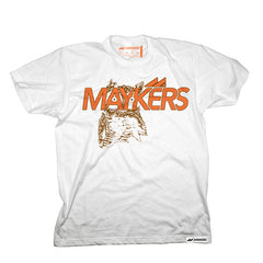 MAYKERS Hooters Tee White