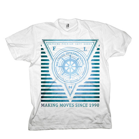 MAYKERS Deep Sea Tee Blue