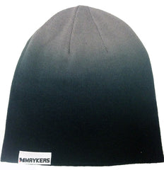 MAYKERS Slouch Beanie Black/Grey Fade