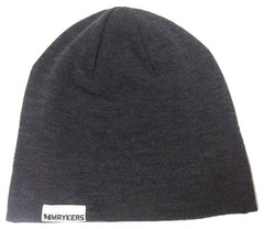 MAYKERS Slouch Beanie Charcoal
