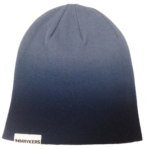 MAYKERS Slouch Beanie Navy Fade