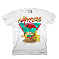 "MAYKERS ""The Leaders"" Tee White"