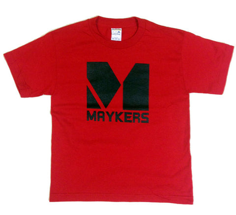 MAYKERS Youth OG Logo Tee Red