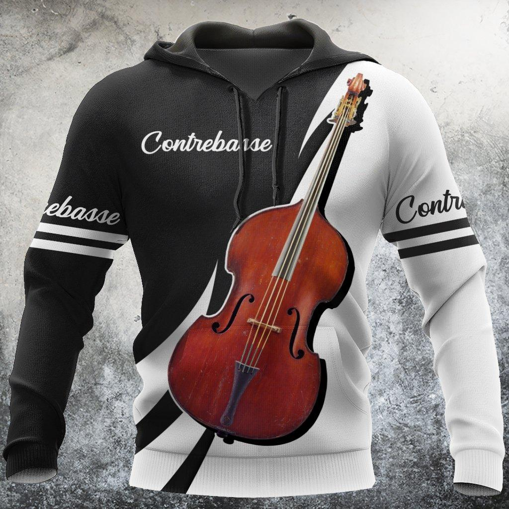 Contrebasse music 3d hoodie shirt for men and women HHAC2122