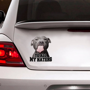 Pitbull  BMA770 To All My Haters Sticker