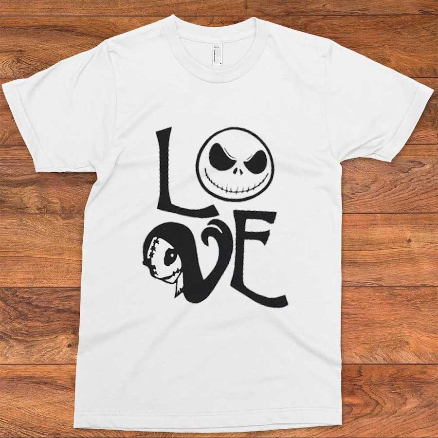 Jack and Sally LOVE T-Shirt