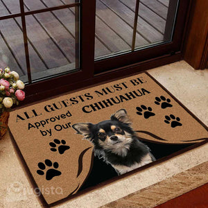 All Guests Must Be Approved By Our Chihuahua Mat 01