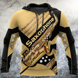Saxophone music 3d hoodie shirt for men and women HGAC06011