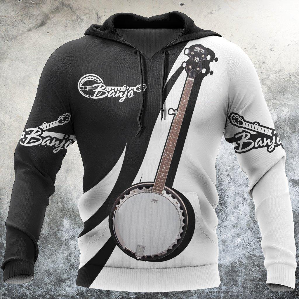 Banjo music 3d hoodie shirt for men and women HG HAC27127