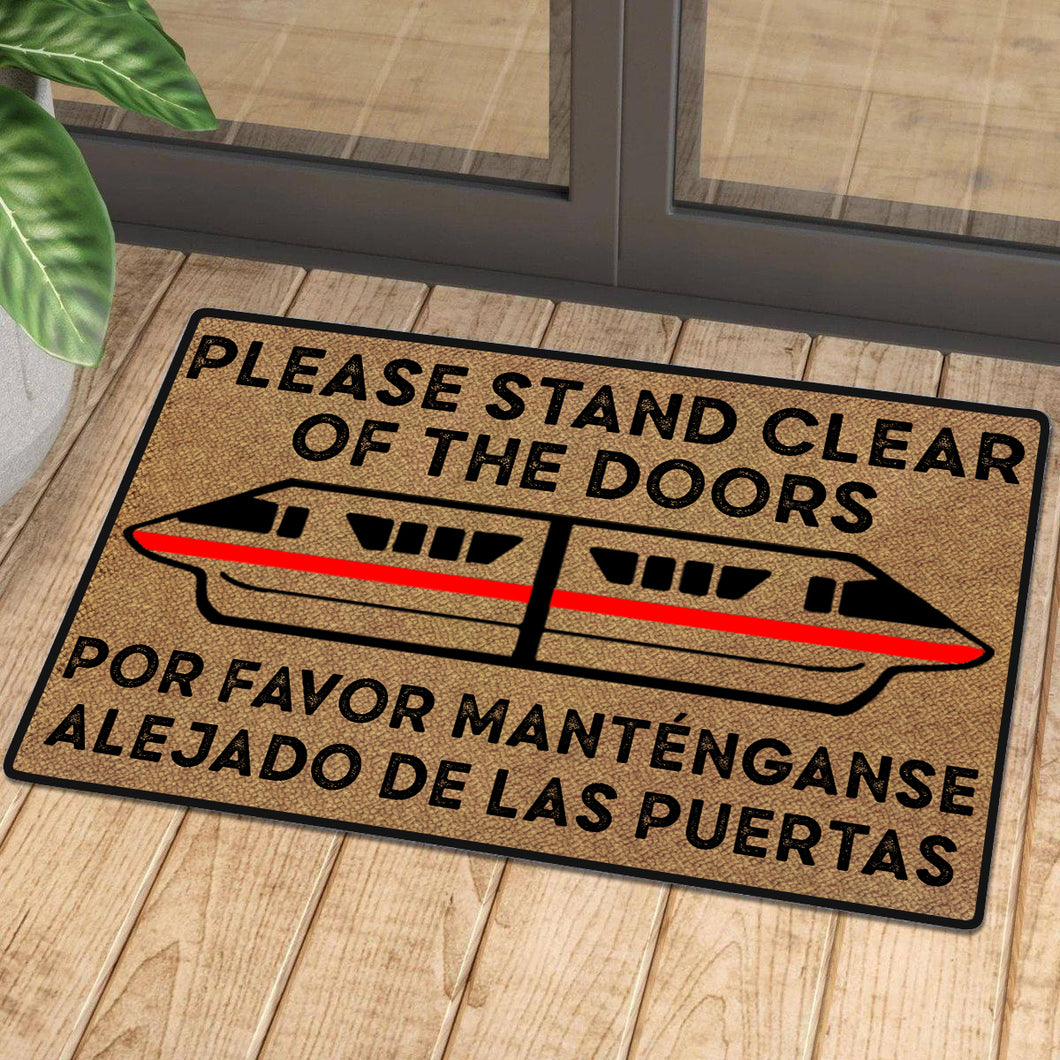 Please Stand Clear Of The Doors